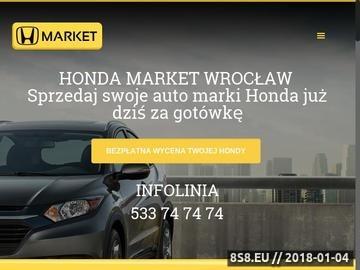Zrzut strony Salon Honda Wrocław