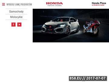 Zrzut strony Salon motocykli Warszawa