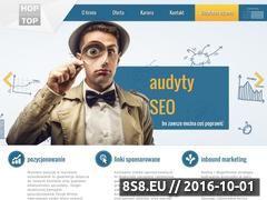 Miniaturka domeny www.hopnatop.pl