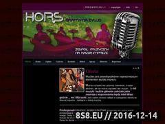 Miniaturka Zespół Muzyczny Hors (www.hors.pl)