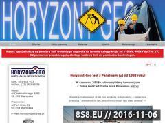 Miniaturka domeny www.horyzont-geo.waw.pl