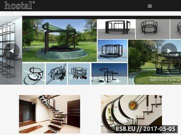 Zrzut strony Balustrady schodowe , tarasowe lub balkonowe