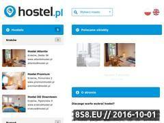 Miniaturka domeny www.hostel.pl