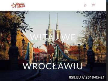 Zrzut strony Tani nocleg Wrocław