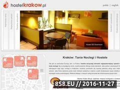Miniaturka domeny www.hostelcracow.com