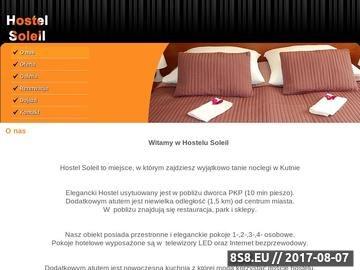 Zrzut strony Hotel Soleil - noclegi Kutno