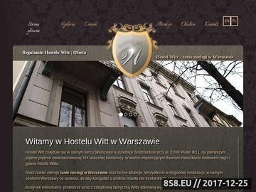 Zrzut strony HOSTELWITT hostel