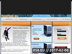 Miniaturka domeny www.hostfast.eu