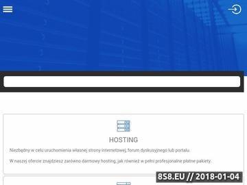 Zrzut strony Hosting i domeny