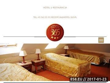 Zrzut strony Hotel Kielce