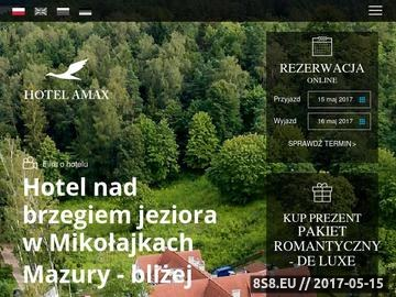 Zrzut strony Hotel-Amax.pl