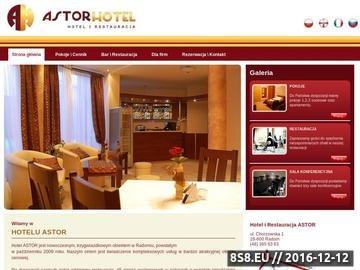 Zrzut strony Astor Radom Hotel z Restauracją Tanie noclegi
