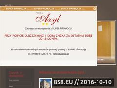 Miniaturka domeny hotel-azyl.pl