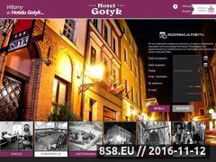 Miniaturka domeny hotel-gotyk.com.pl