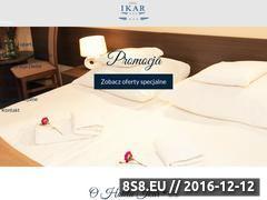 Miniaturka domeny www.hotel-ikar.pl