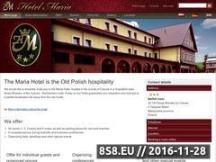 Miniaturka domeny www.hotel-maria.eu
