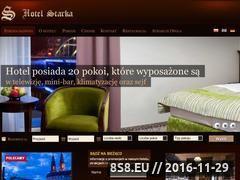 Miniaturka domeny www.hotel-starka.pl