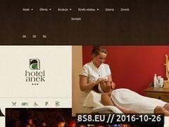 Miniaturka domeny hotelanek.pl