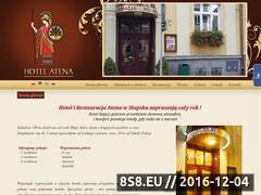 Miniaturka domeny www.hotelatena.ta.pl