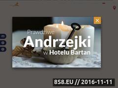 Miniaturka domeny www.hotelbartan.pl