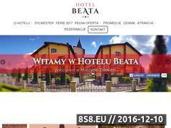 Miniaturka domeny www.hotelbeata.pl