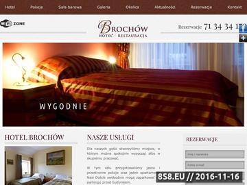 Zrzut strony Noclegi, hotel