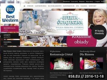 Zrzut strony Cristal sp. z o.o. - noclegi w Białymstoku