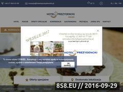 Miniaturka domeny hoteleprezydenckie.pl