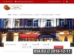 Miniaturka domeny hoteleuropejski.radom.pl