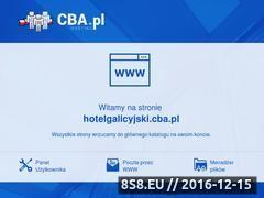 Miniaturka domeny hotelgalicyjski.cba.pl