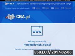 Thumbnail of Hotel Galicyjski uroczysko na skraju miasta. Website