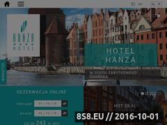 Miniaturka domeny www.hotelhanza.pl