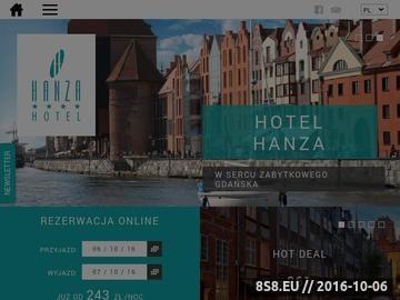 Zrzut strony Hotel w Gdańsku