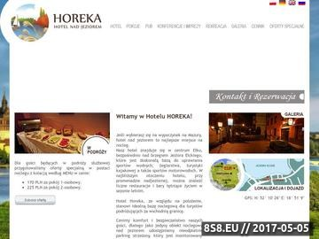 Zrzut strony Hotele Mazury - Hotel Horeka Ełk