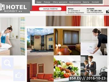 Zrzut strony Hotel Ania - wynajem pokoju