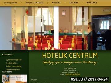 Zrzut strony Wynajem pokoi - Hotelik Centrum