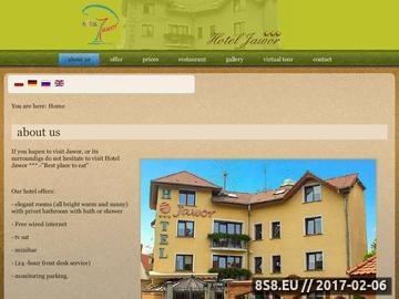 Zrzut strony HOTEL JAWOR Hotel Dolny Śląsk