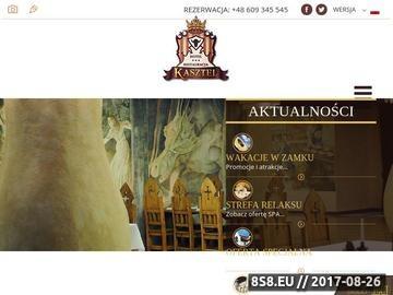 Zrzut strony Hotel Kasztel - Obiekty konferencyjne