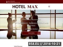 Miniaturka domeny www.hotelmax.com.pl