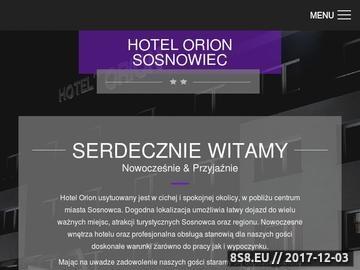 Zrzut strony Hotel Sosnowiec