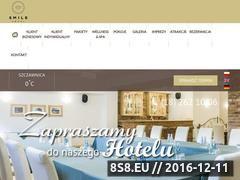 Miniaturka domeny www.hotelsmile.pl