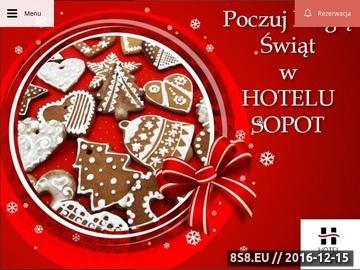 Zrzut strony Hotel Sopot w Sopocie