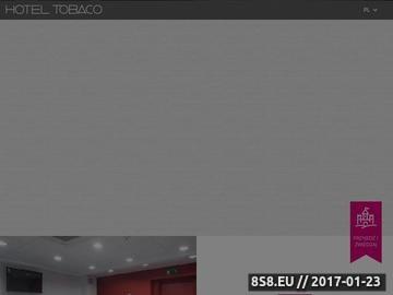 Zrzut strony Hotel Tobaco - tanie noclegi w Łodzi