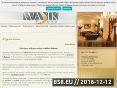 Miniaturka domeny hotelwasik.pl