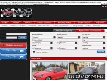 Zrzut strony Internetowa auto-giełda