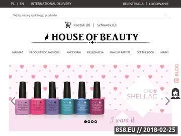Zrzut strony House of Beauty - kosmetyki naturalne