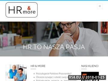 Zrzut strony Firma rekrutacyjna - HR Warszawa