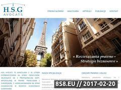 Miniaturka domeny www.hsgadwokat.pl