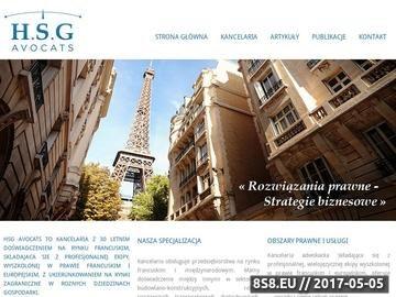 Zrzut strony Prawnik w Paryżu
