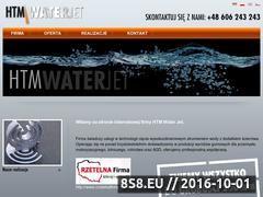 Miniaturka domeny htm-waterjet.pl